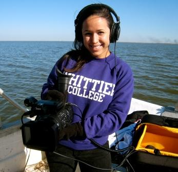CCA Fellow Jennice Ontiveros '12 works on a film documentary project