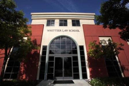 Whittier Law School is located in Costa Mesa, CA