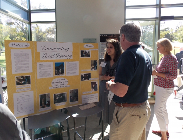 Whittier College student presents at the 2015 College & Community Expo