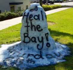 Poets go green and participate in Heal the bay